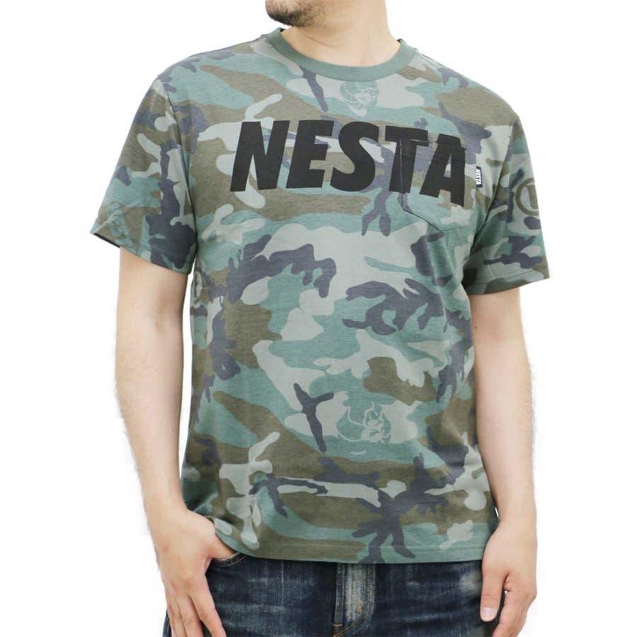 大きいサイズ メンズ Tシャツ 半袖 NESTABRAND【キングサイズ/2L/3L/4L