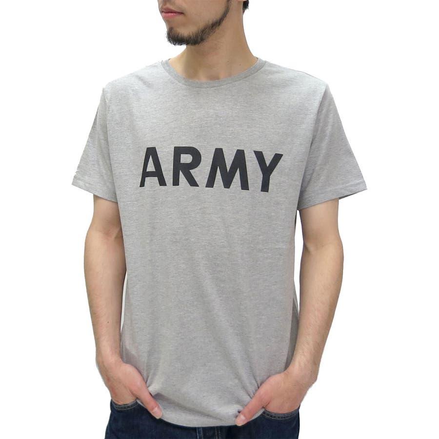 普段着として活躍中です メンズファッション通販Tシャツ メンズ Tシャツ ARMY アーミー プリント Tシャツ 半袖  ミリタリー ストリート カジュアル ロゴ プリント XLLL ティーシャツ Tシャツメンズ 夏 劇物