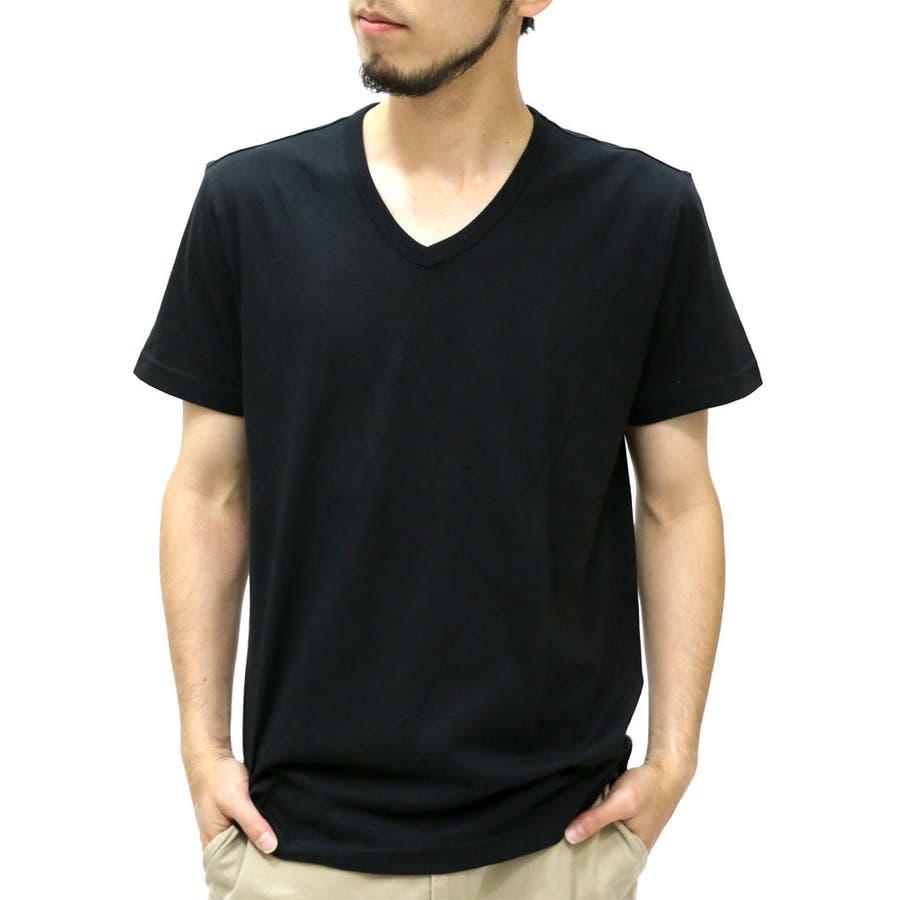 今の季節にぴったりの メンズファッション通販エドウィン Tシャツ メンズ 半袖 Vネック  EDWIN クール Tシャツ ボーダー 無地 ティーシャツ アメカジ インナーカジュアル XL LL Tシャツメンズ カットソー 麻混 敢然