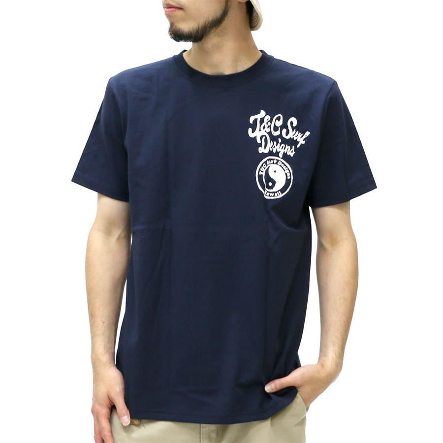 最高に今年っぽい メンズファッション通販T&C サーフデザイン Tシャツ メンズ 和柄 波 プリント Tシャツ 半袖  アメカジ サーフ ブランド ストリート ハワイ夏 XL LL ティーシャツ Tシャツメンズ カットソー メンズ 爆雷