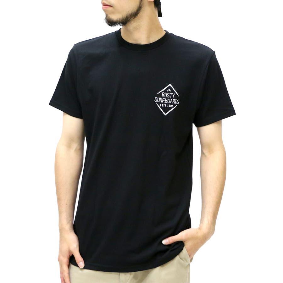 この価格はモンクナシです メンズファッション通販ラスティ Tシャツ メンズ ツアー プリント Tシャツ 半袖  RUSTY ツアープリント サーフ ストリート アメカジ プリントXL LL Tシャツメンズ ティーシャツ 夏 擬音