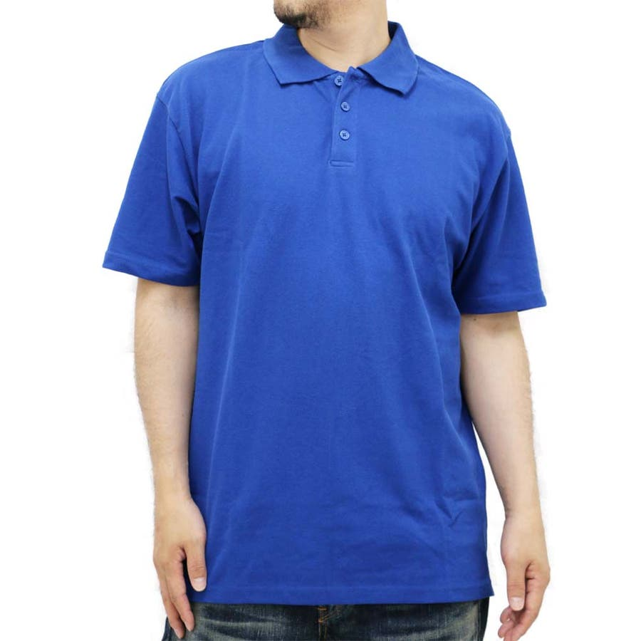 簡単におしゃれになれちゃう メンズファッション通販大きいサイズ メンズ ポロシャツ 半袖 カノコ キングサイズ 2L 3L 4L 5L 6L シンプル きれいめ 清潔感 カジュアル無地 議案