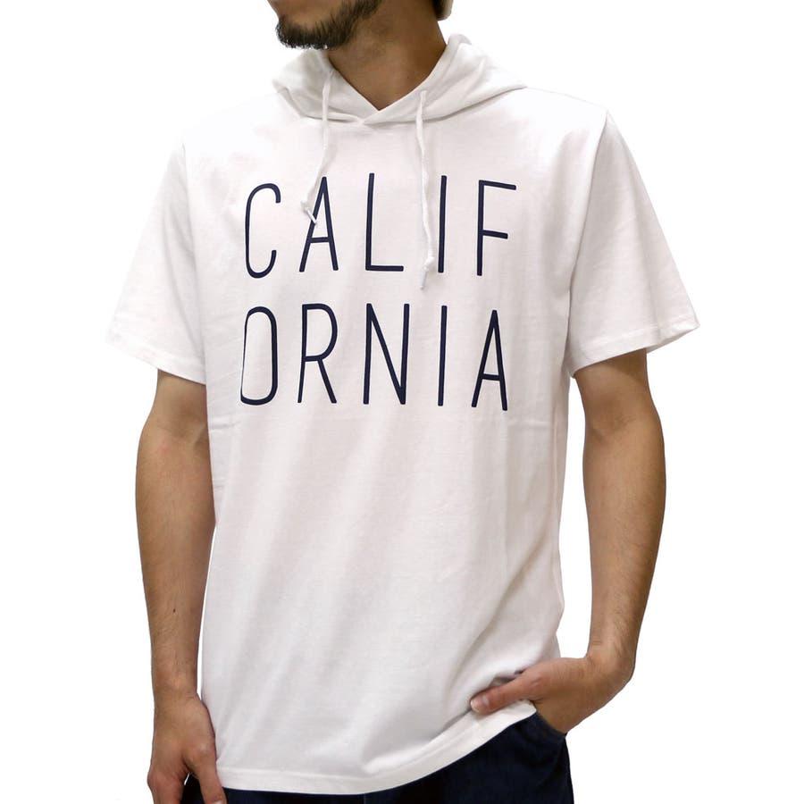 鉄板アイテム Tシャツ メンズ シティ ロゴ プリント パーカー Tシャツ 半袖  Tシャツ パーカー アメカジ ストリート カジュアル プリントTパーカー ティーシャツ ティーパーカー パーカーメンズ XL LL Tシャツメンズ 依然