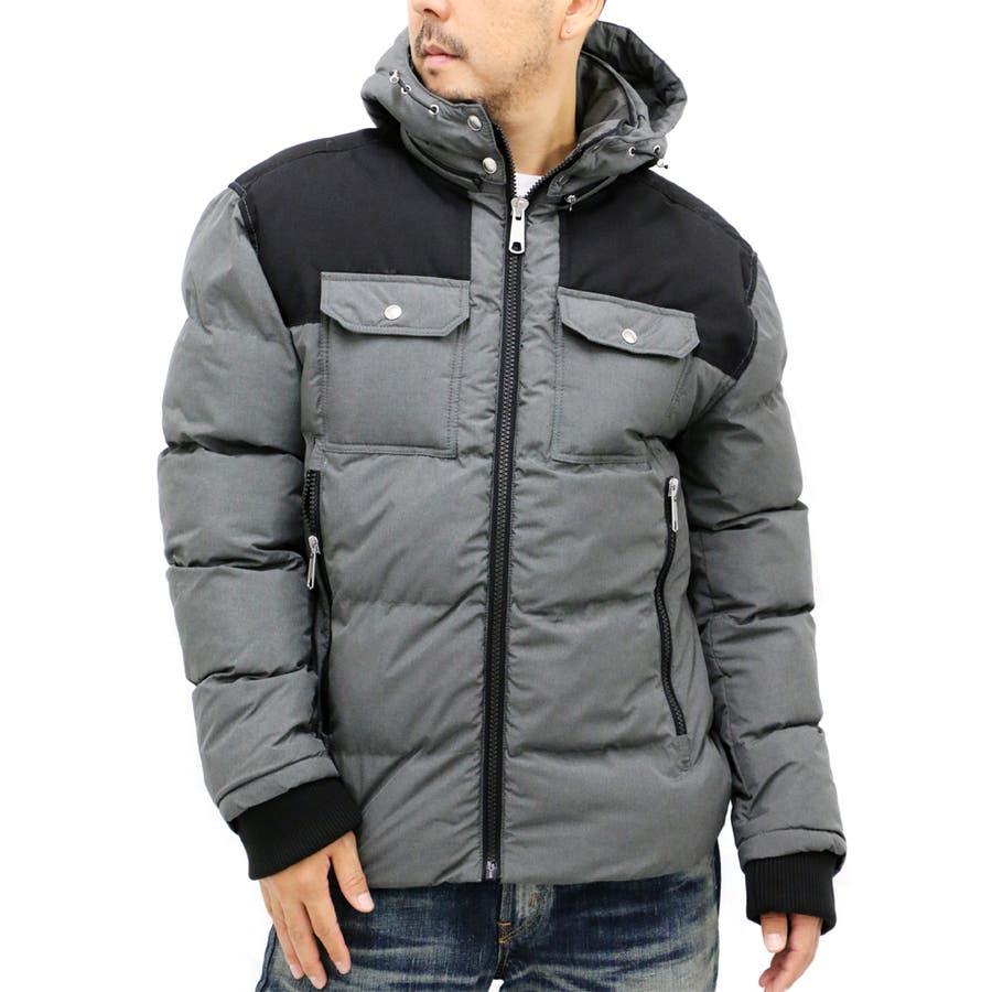 質感も良く形もいい感じです! メンズファッション通販大きいサイズ メンズ 中綿 パーカー ジャケット キングサイズ 2L 3L 4L 5L フード アウター ブルゾン シンプルきれいめ 清潔感 無地 理窟