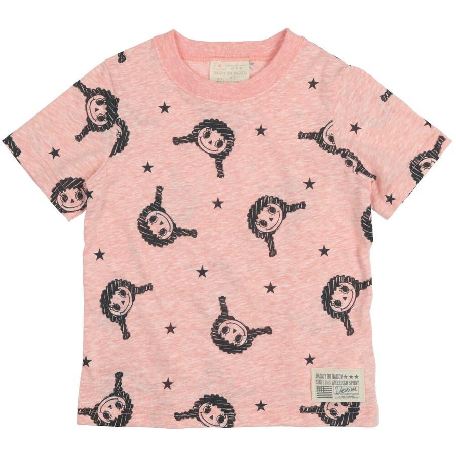 【子供服】 Daddy Oh Daddy (ダディオダディ) 日本製ダディコ総柄半袖Tシャツ 80cm〜130cm V32850 3