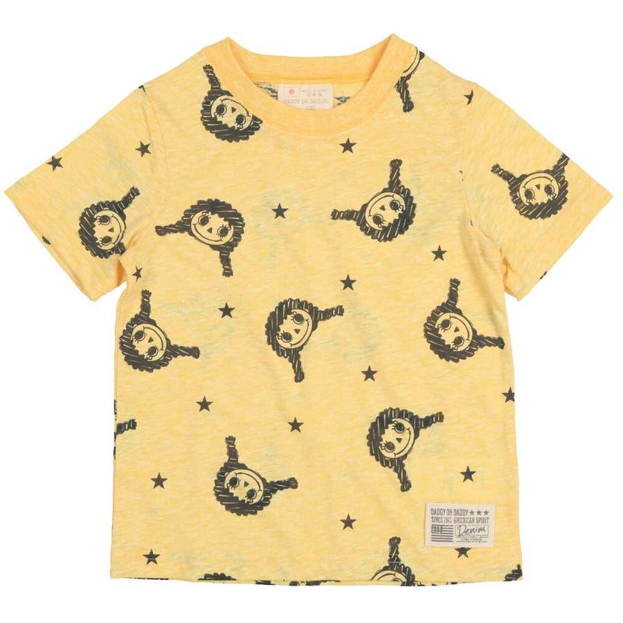 【子供服】 Daddy Oh Daddy (ダディオダディ) 日本製ダディコ総柄半袖Tシャツ 80cm〜130cm V32850 4