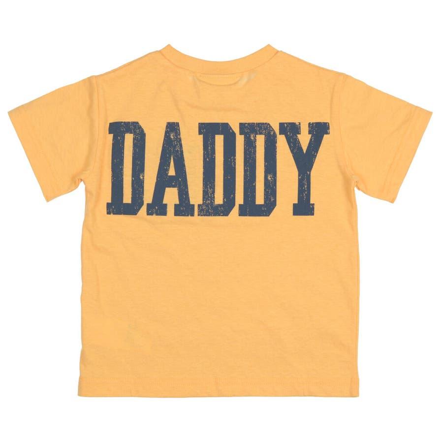 【子供服】 Daddy Oh Daddy (ダディオダディ) 日本製デニムポケット付半袖Tシャツ 80cm〜150cm V32851 5