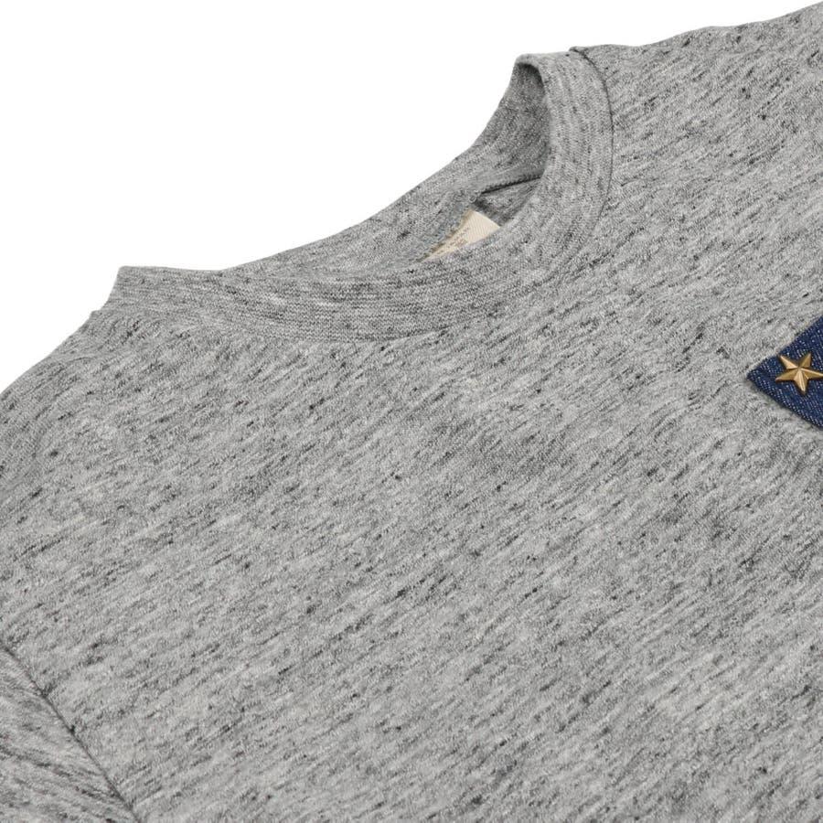 【子供服】 Daddy Oh Daddy (ダディオダディ) 日本製デニムポケット付半袖Tシャツ 80cm〜150cm V32851 6