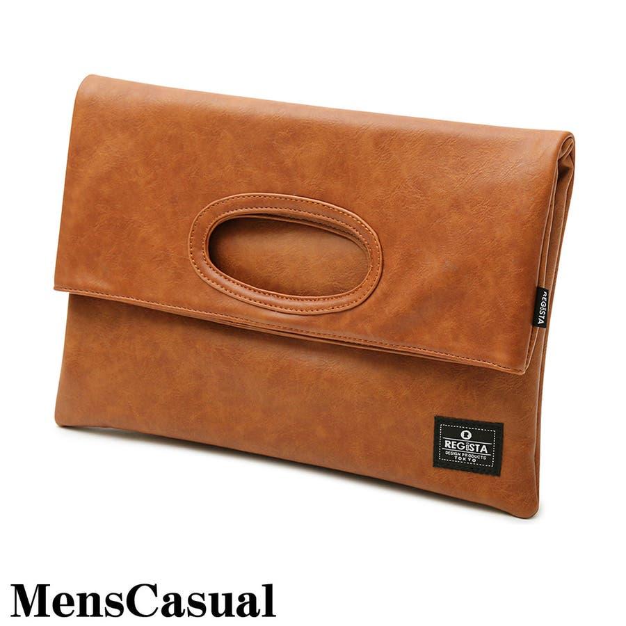 クラッチバッグ メンズ トートバッグ バッグ 2WAY カバン かばん 鞄 フェイクレザー A4サイズ 通勤 通学 カジュアル 男性用 メンズファション 1