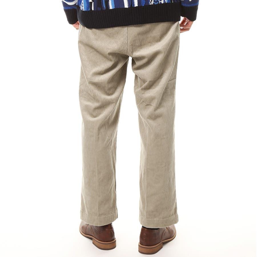 メンズ ビッグシルエット コーデュロイ ワイドパンツ 綿100% コットン ロング ズボン メンズファッション 通販 新作 服 7