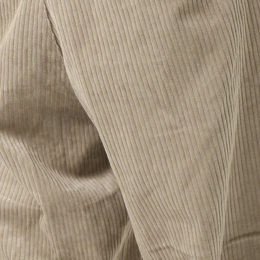 メンズ ビッグシルエット コーデュロイ ワイドパンツ 綿100% コットン ロング ズボン メンズファッション 通販 新作 服 8