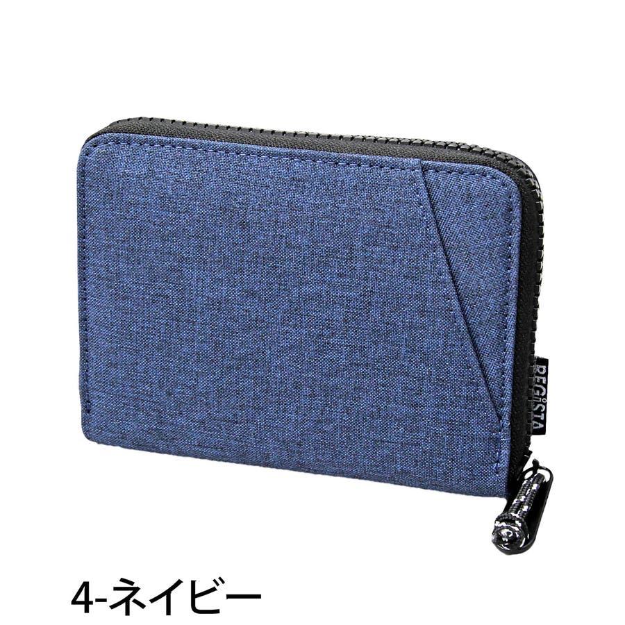 二つ折り財布 メンズ 財布 サイフ さいふ 2つ折り財布 コンパクトウォレット カード入れ 小銭入れ PVCナイロン メンズファッション小物 通販 新作 人気 5