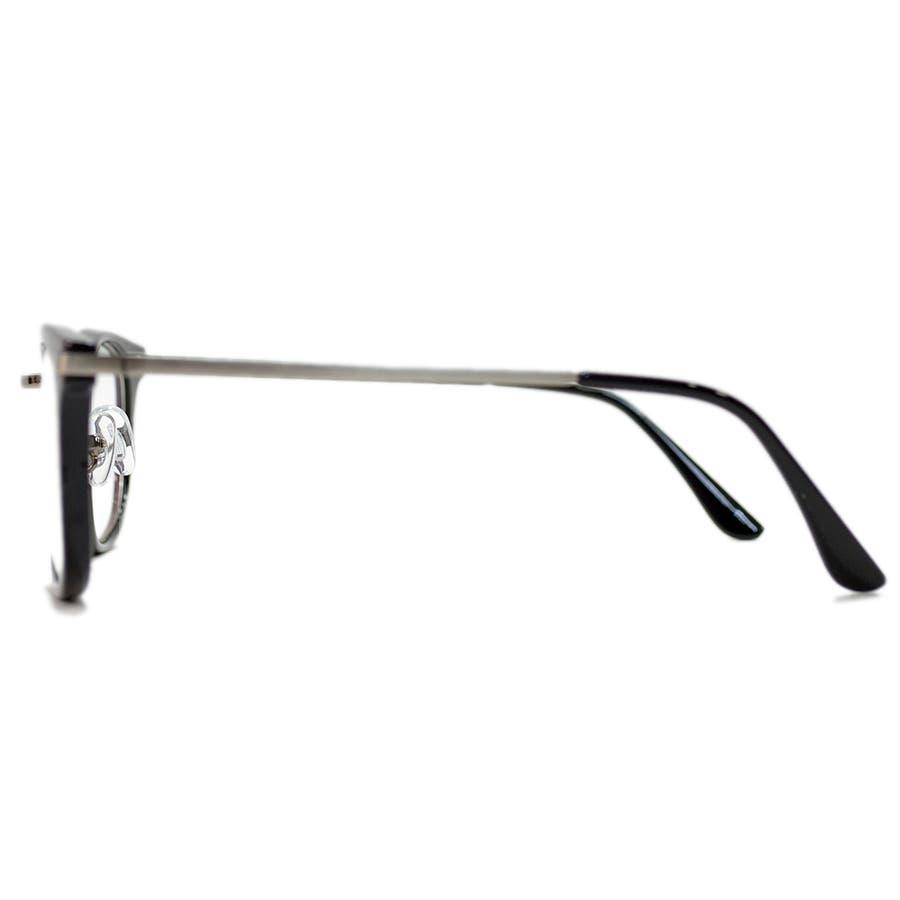 【全2色】 PCメガネ ブルーライトカット 伊達メガネ スクエア スクウェア 四角 おしゃれ パソコン用 目を保護する メンズレディース アジアンフィットレンズ 6