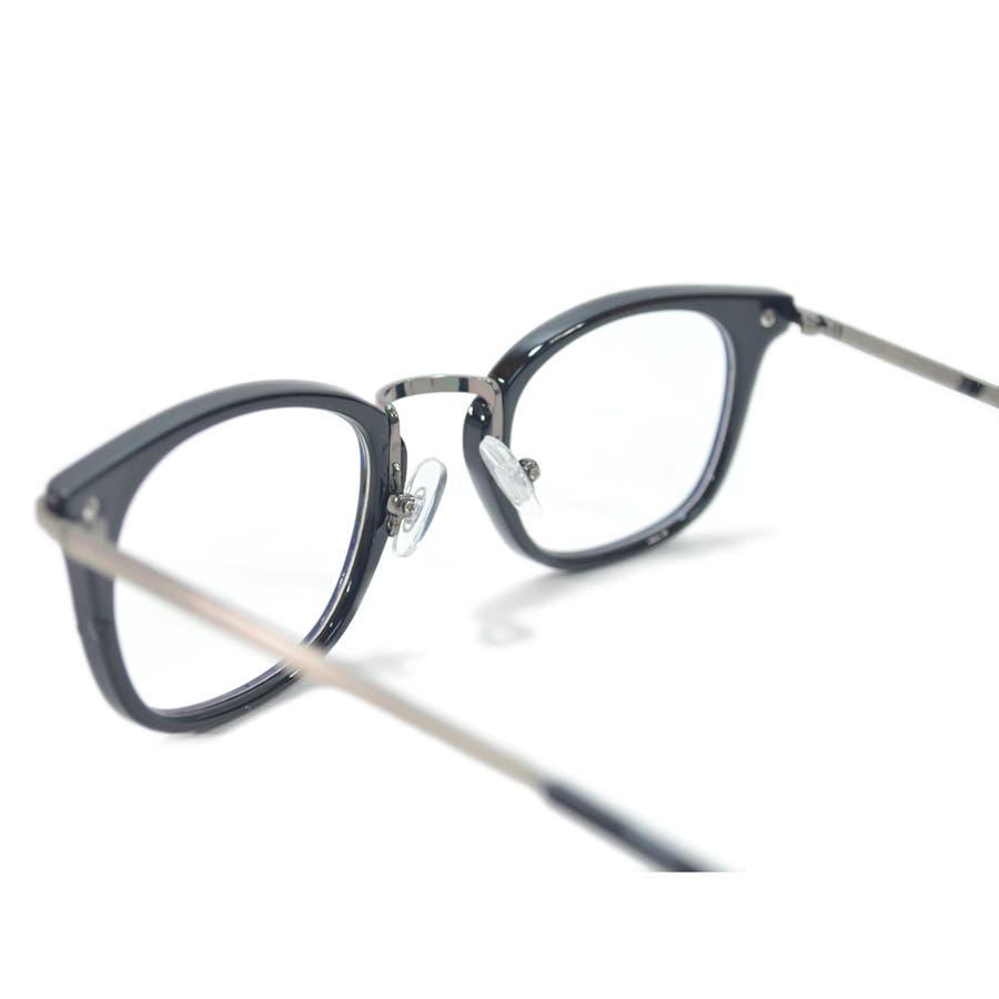 【全2色】 PCメガネ ブルーライトカット 伊達メガネ スクエア スクウェア 四角 おしゃれ パソコン用 目を保護する メンズレディース アジアンフィットレンズ 8