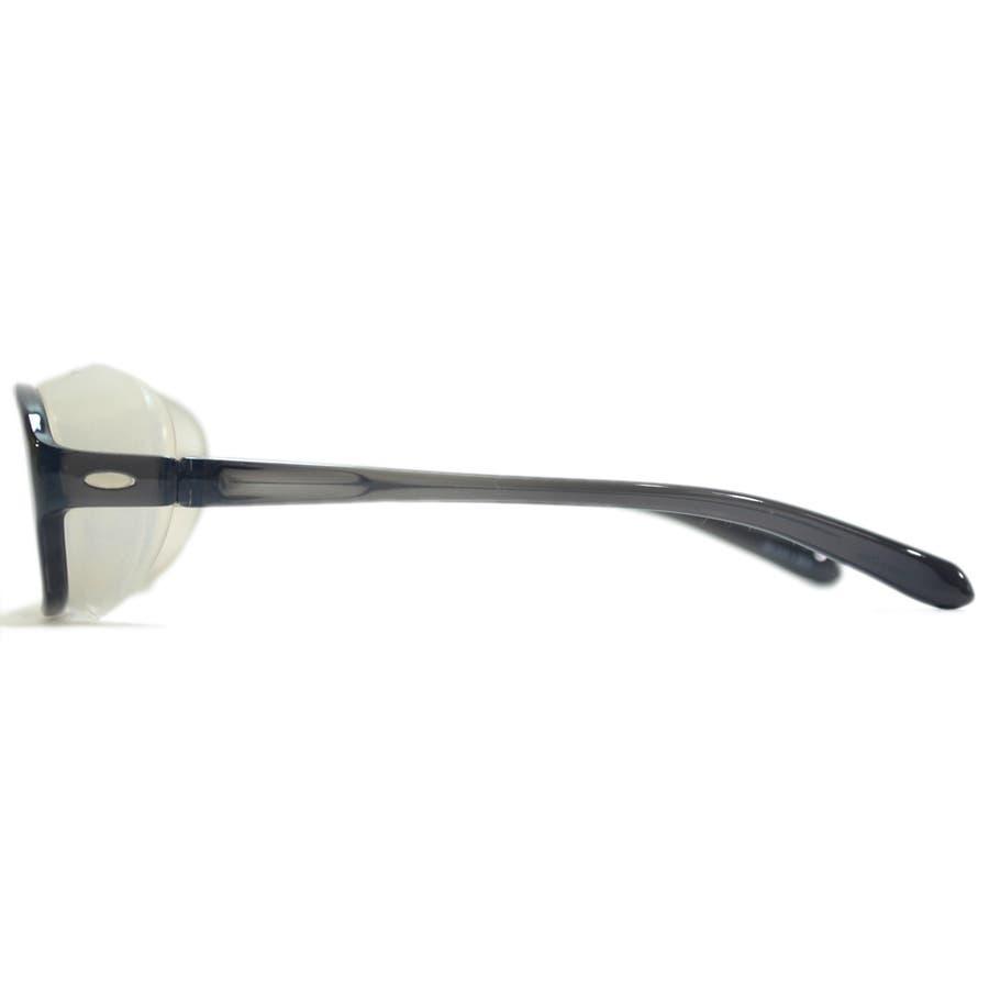 【全3色】 花粉症 メガネ 花粉メガネ 花粉ゴーグル ウィルス対策 飛沫防止 飛沫予防 感染予防 予防 保護メガネ ドライアイ対策PM2.5 伊達メガネ サングラス 大きいレンズ メンズ レディース 男女兼用 7