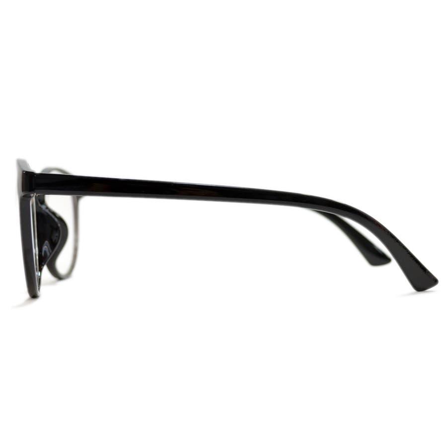 【全2色】 PCメガネ ブルーライトカット 伊達メガネ ボストン ラウンド 丸メガネ 丸型 おしゃれ パソコン用 目を保護する メンズレディース 6
