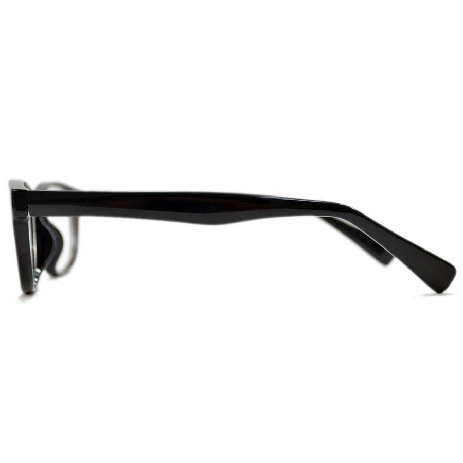 【全2色】 PCメガネ ブルーライトカット 伊達メガネ オーバル おしゃれ パソコン用 目を保護する メンズ レディースアジアンフィットレンズ 6