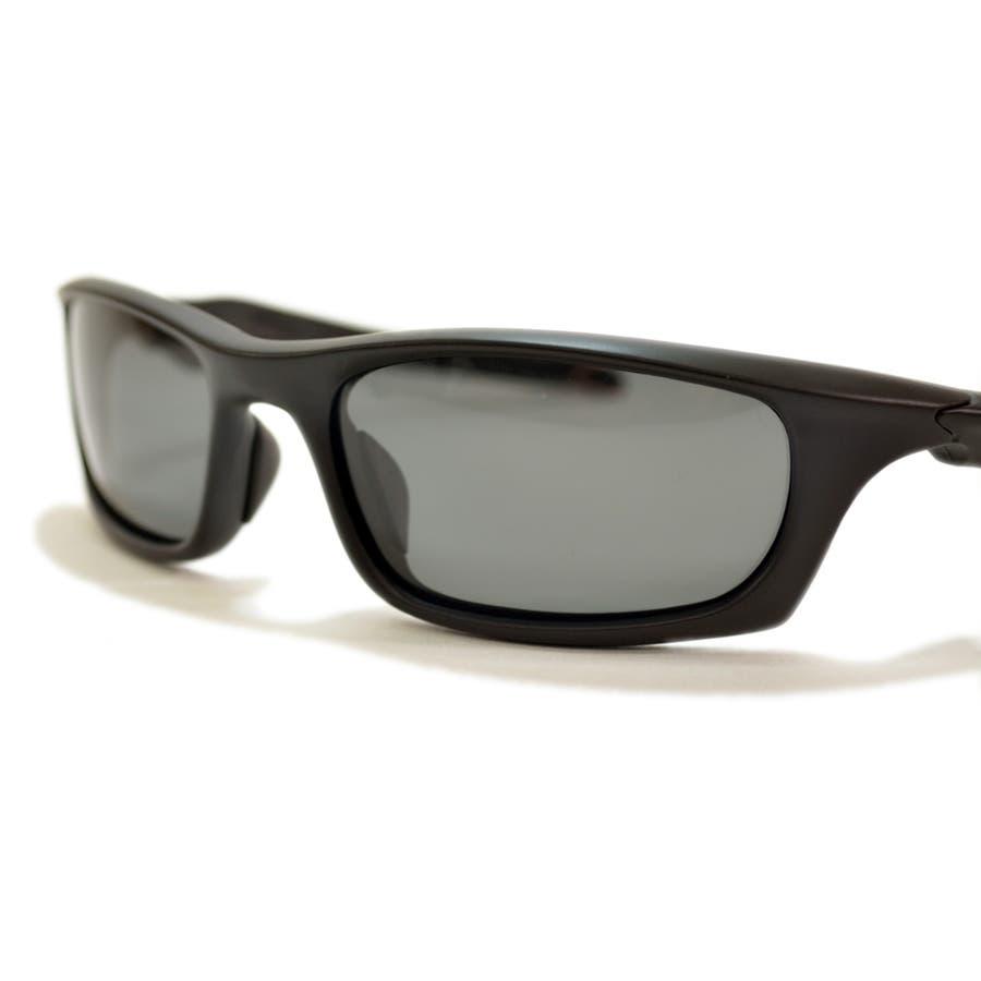 【全3色】 偏光サングラス 伊達メガネ バイカーゴーグル バイカーシェード スポーツサングラス メンズ レディース アジアンフィット 10