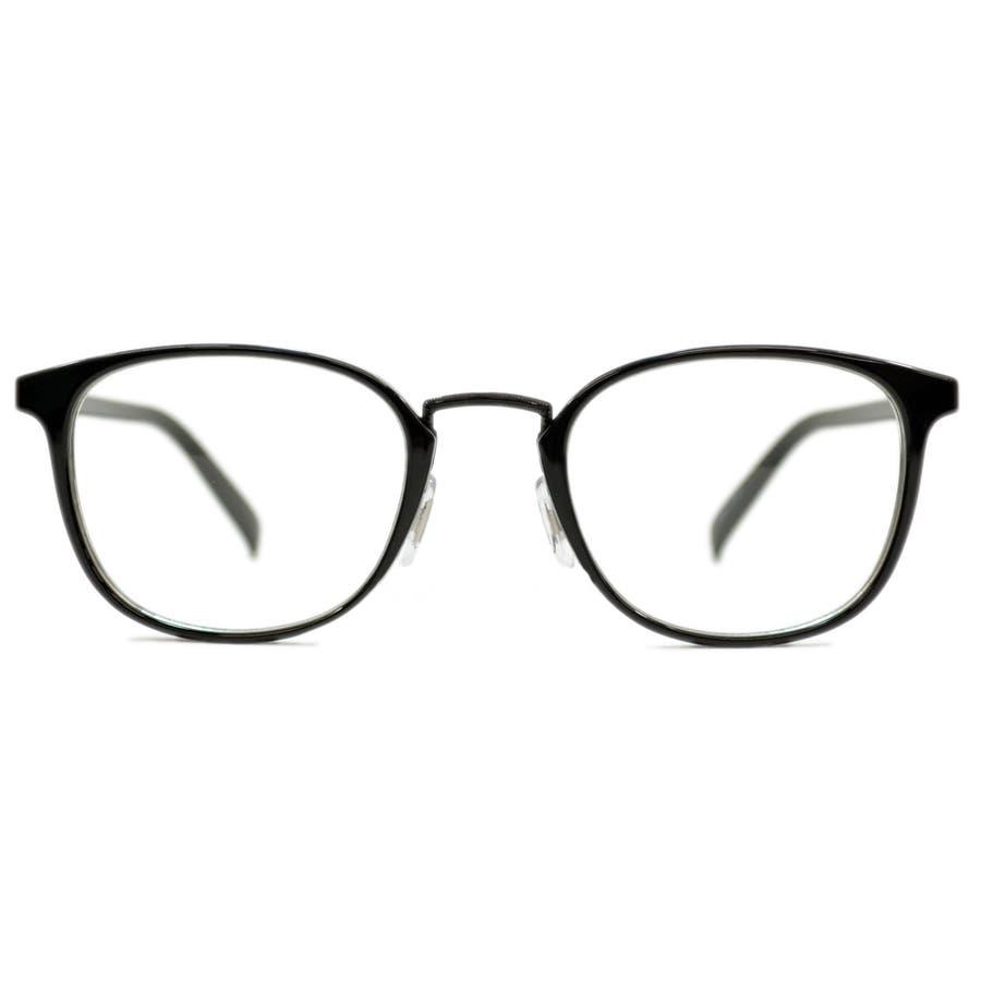 【全5色】 伊達メガネ サングラス ライトカラーレンズ ウェリントン ボストン ボスリントン 薄い色 伊達めがね だてめがね丸メガネ丸眼鏡 メンズ レディース アジアンフィット カラーレンズサングラス 8