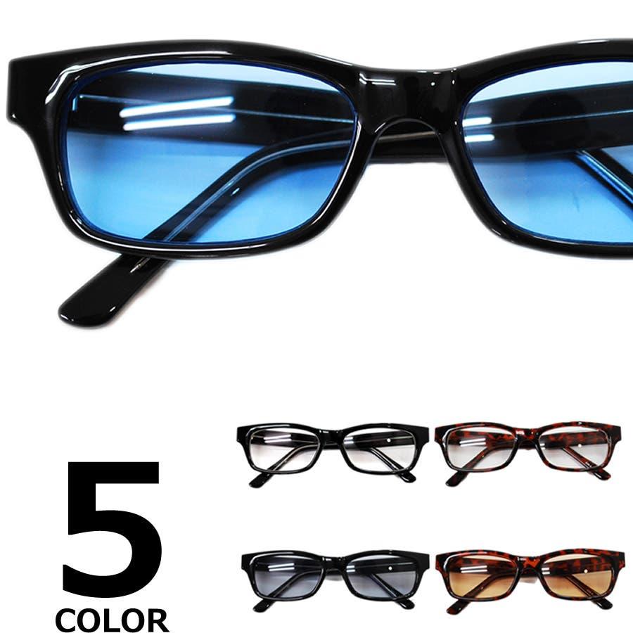 【全5色】 伊達メガネ サングラス ライトカラーレンズ スクエア スクウェア オーバル 薄い色 伊達めがね だてめがね 丸メガネ丸眼鏡 メンズ レディースレンズ アジアンフィット カラーレンズサングラス 1