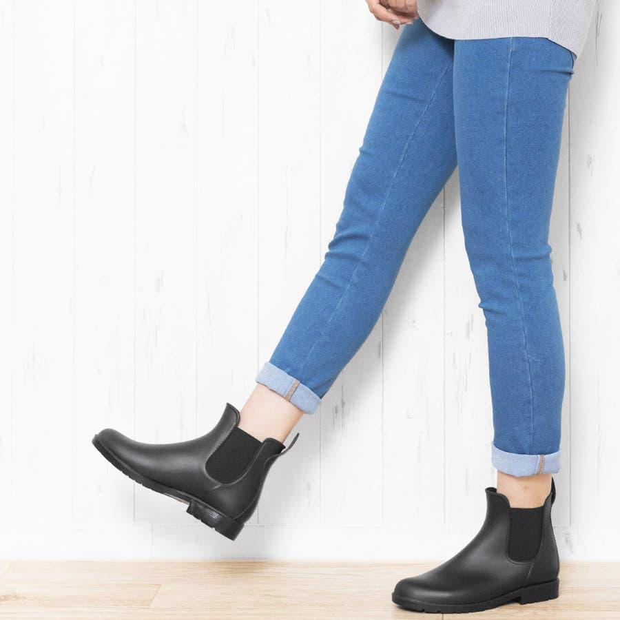 サイドゴアブーツ レインブーツ ブーツ 靴 シューズ M L 24cm 24.5cm 25cm レディース 春夏 ミリアンデニ 9