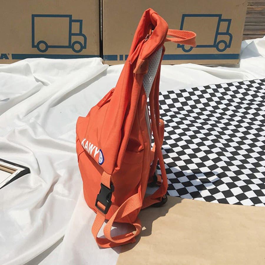 リュック レディース リュックサック ディパック バックパック A4 軽量 かばん 三角 通学 鞄 6