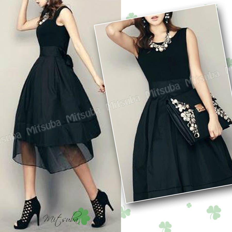 背中Vカット☆レトロなドレスドレス 大きいサイズ パーティドレス ワンピース 結婚式 披露宴