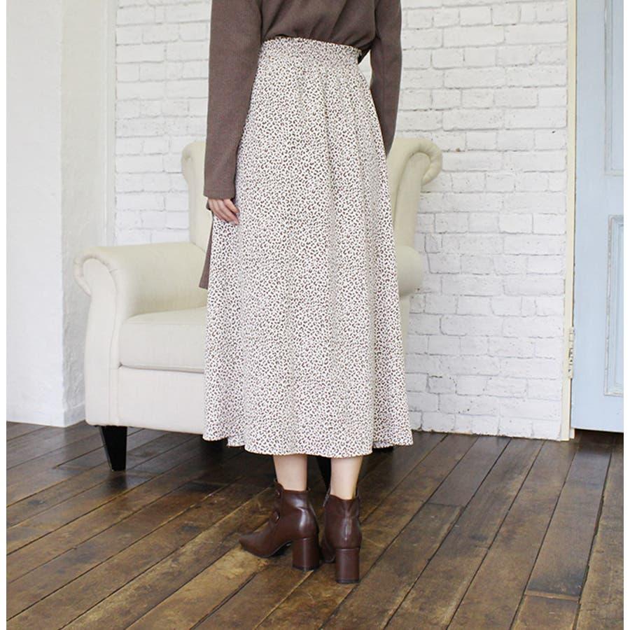 レオパードフレアスカート 5