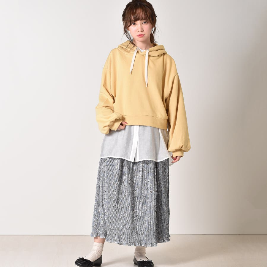 ◇RETRO GIRL◇ ウラケボリュームフーディー 9