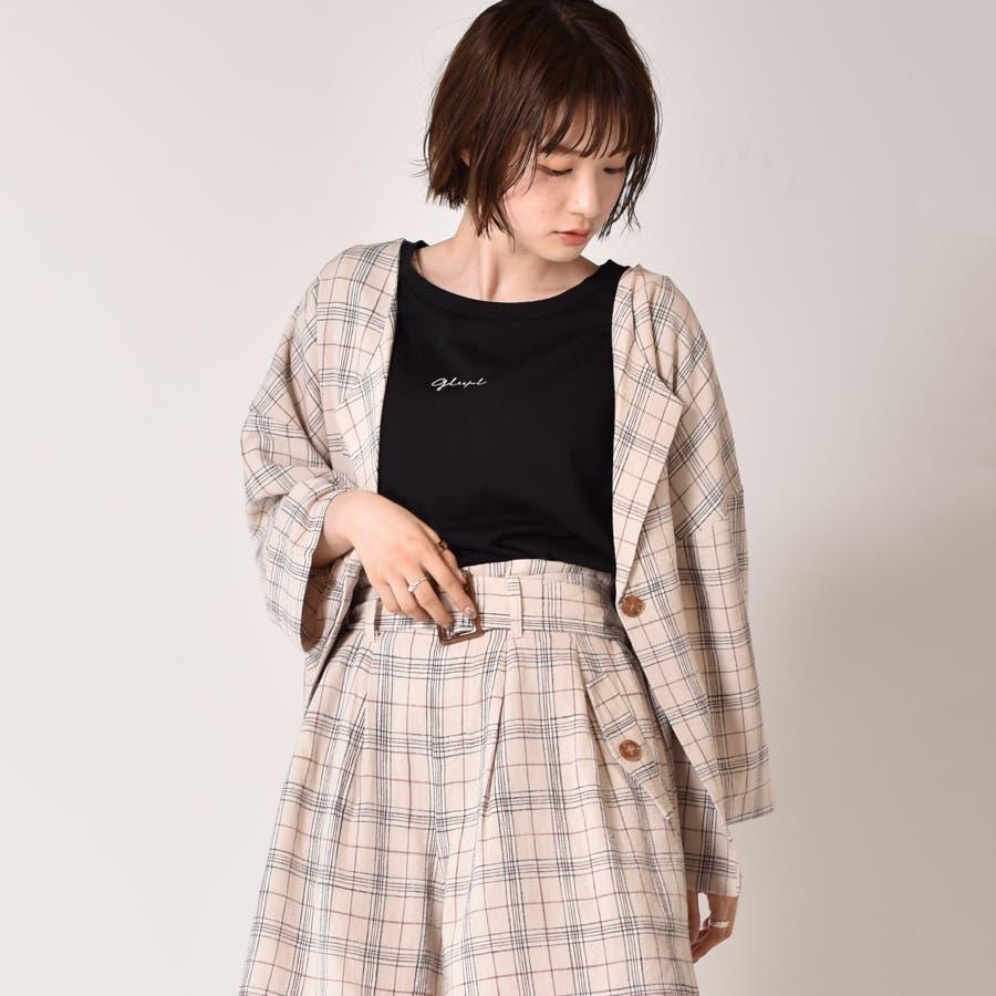 ◇RETRO GIRL◇ 麻レーヨンノーカラーJK 108