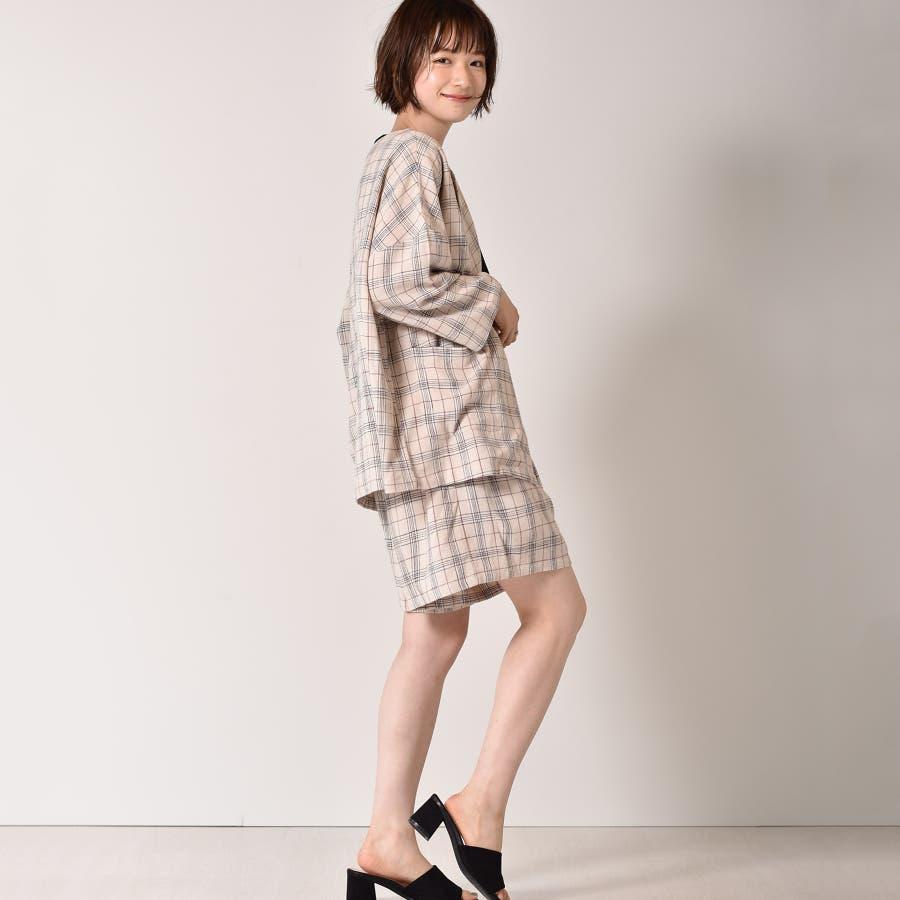 ◇RETRO GIRL◇ 麻レーヨンノーカラーJK 5