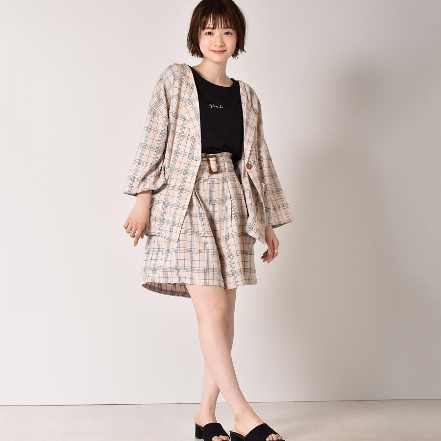 ◇RETRO GIRL◇ 麻レーヨンノーカラーJK 4
