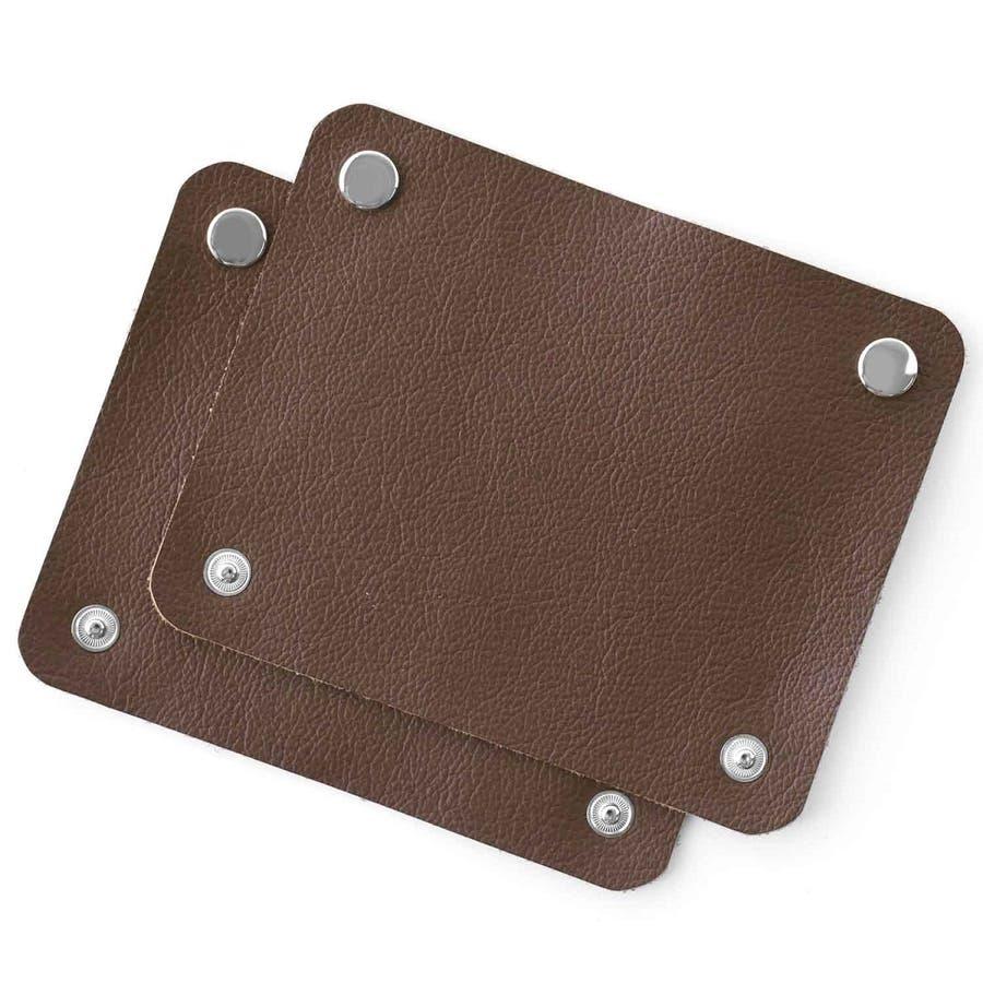 2枚セット バッグ用 持ち手 牛本革 ハンドルカバー 31