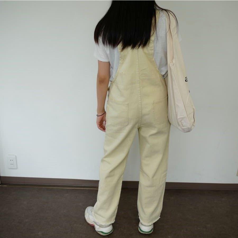 オーバーオール サロペット オールシーズン パンツ 可愛い 韓国 オルチャン パンツ 学生風 カジュアル 3