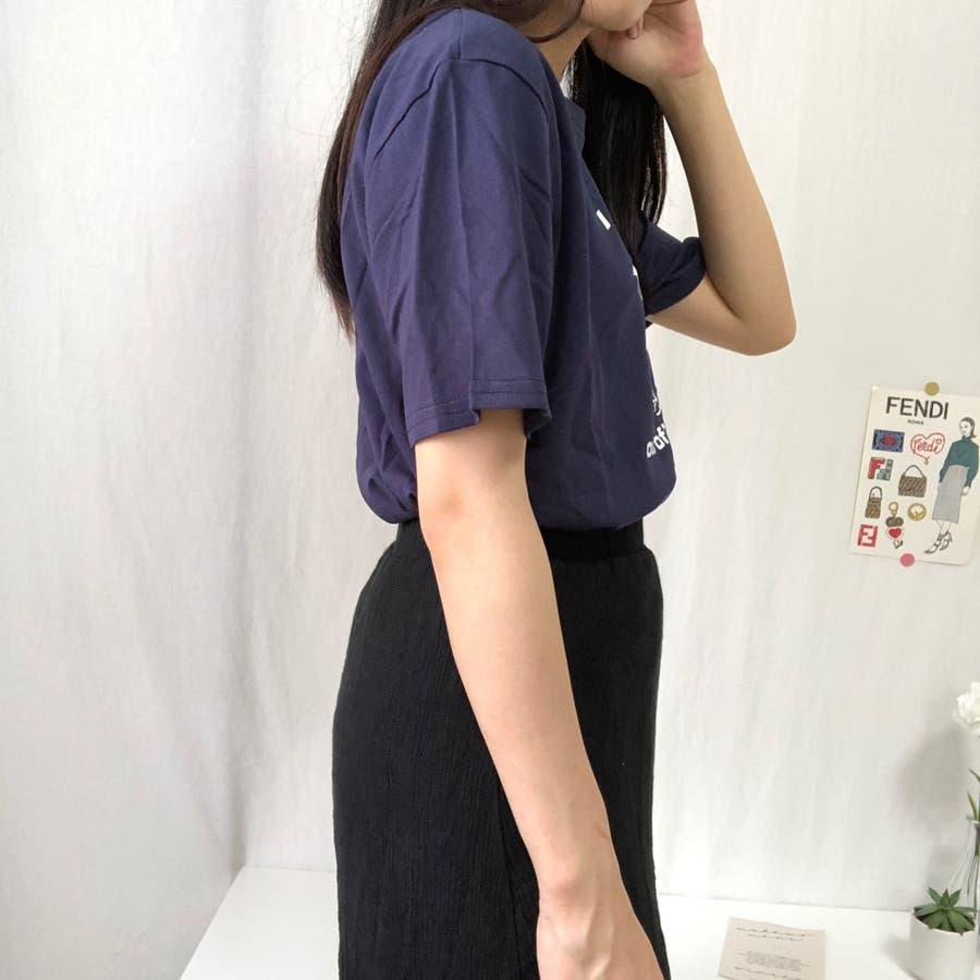 ダンスTシャツ Tシャツ ダンス レトロ 夏 カジュアル ゆるT プチプラ 韓国 オルチャン  8