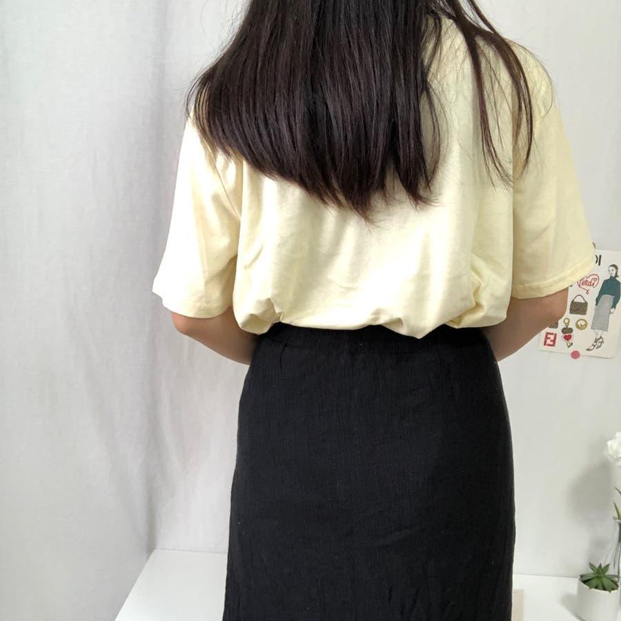 ダンスTシャツ Tシャツ ダンス レトロ 夏 カジュアル ゆるT プチプラ 韓国 オルチャン  3