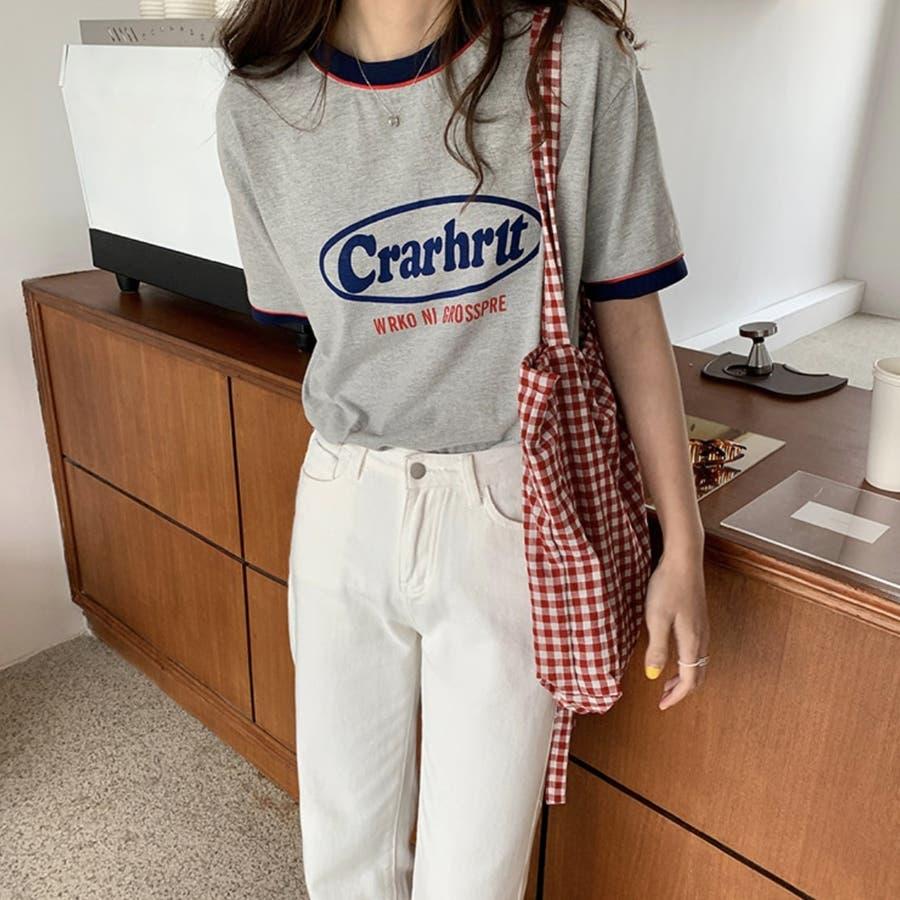 Tシャツ ロック レトロ 韓国 カジュアル 大きめサイズ オーバーサイズ ロゴT 7