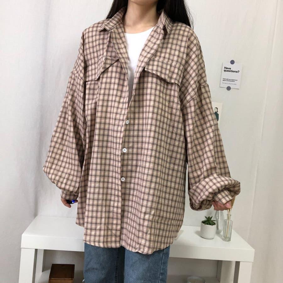 たぽ袖シャツ たぽ袖 シャツ オーバーサイズ ゆったり 韓国 プチプラ オルチャン  46