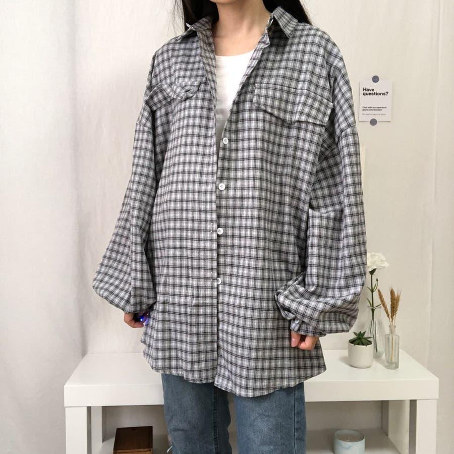 たぽ袖シャツ たぽ袖 シャツ オーバーサイズ ゆったり 韓国 プチプラ オルチャン  28