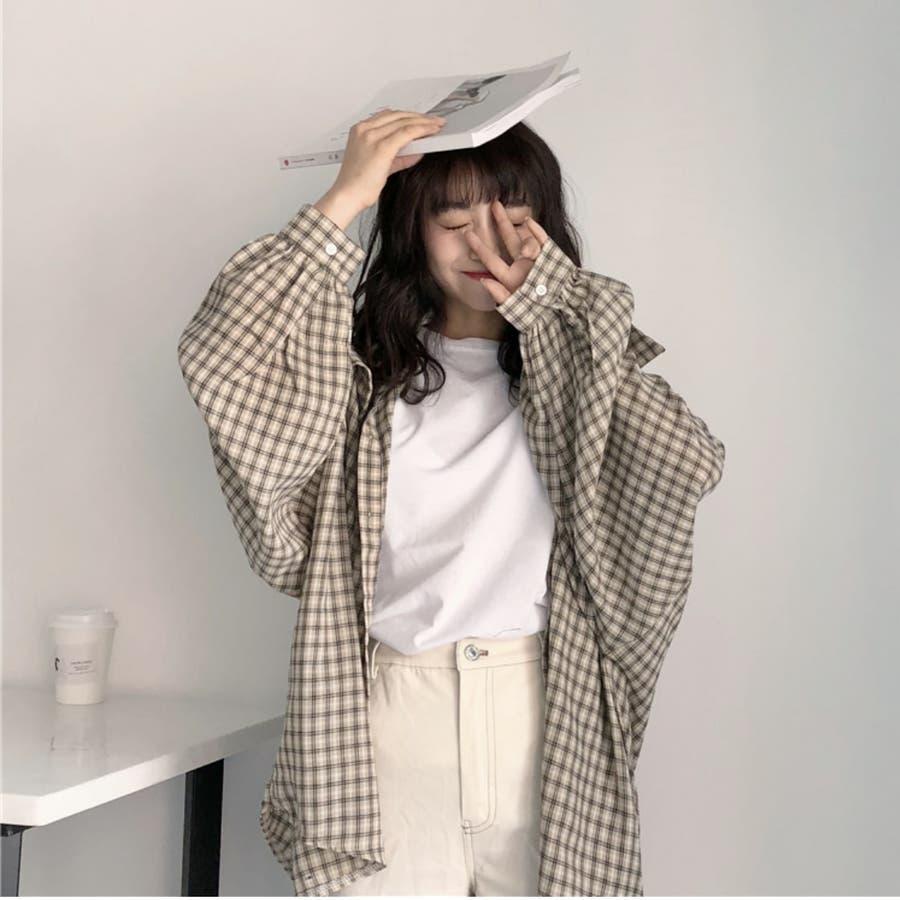たぽ袖シャツ たぽ袖 シャツ オーバーサイズ ゆったり 韓国 プチプラ オルチャン  4