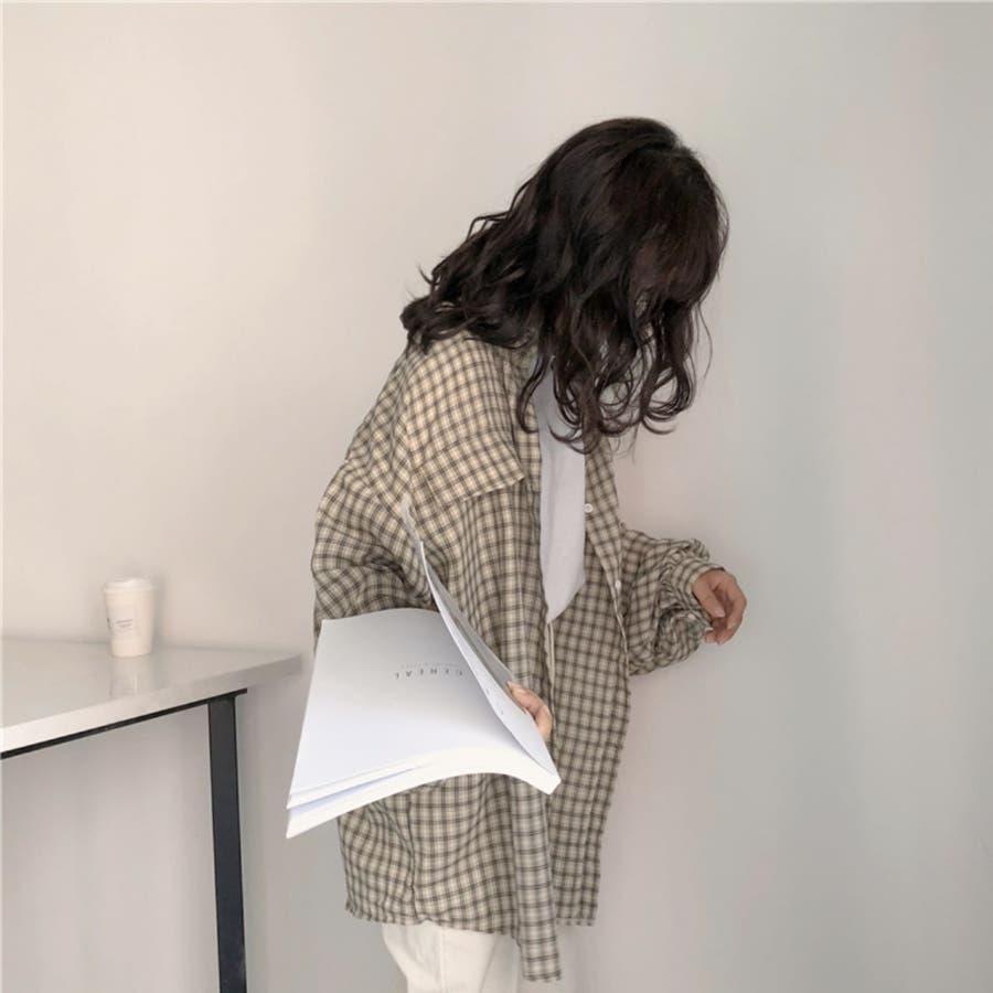 たぽ袖シャツ たぽ袖 シャツ オーバーサイズ ゆったり 韓国 プチプラ オルチャン  5