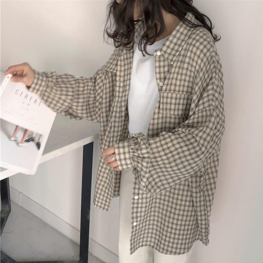 たぽ袖シャツ たぽ袖 シャツ オーバーサイズ ゆったり 韓国 プチプラ オルチャン  6