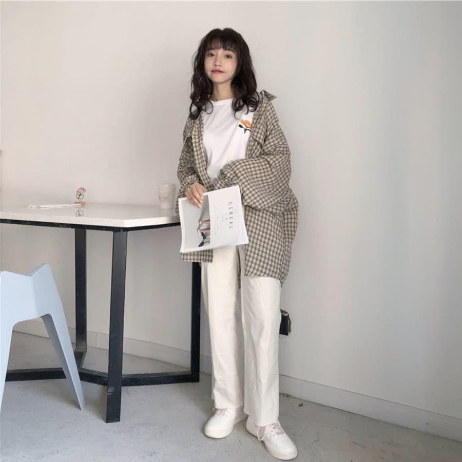 たぽ袖シャツ たぽ袖 シャツ オーバーサイズ ゆったり 韓国 プチプラ オルチャン  8