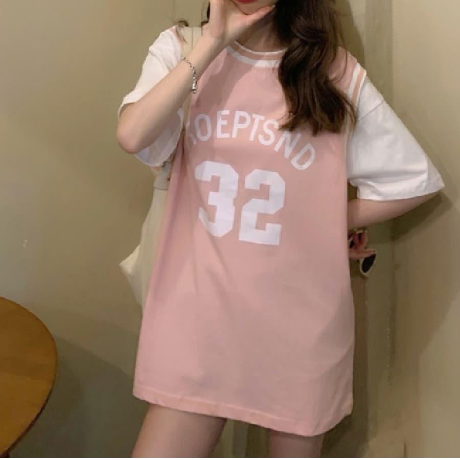 ユニフォーム風Tシャツ バスケ ユニフォーム風 Tシャツ 韓国 オーバーサイズ オルチャン  93
