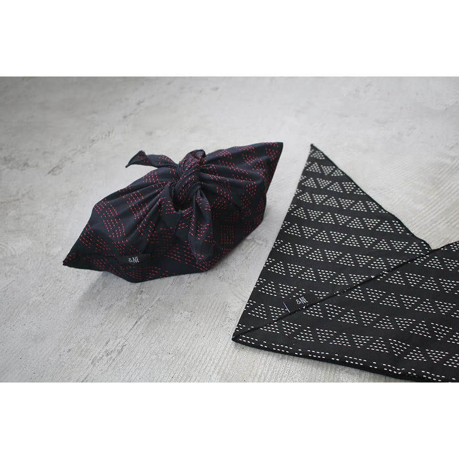 &NE(アンドエヌイー) あづま袋 刺繍 2