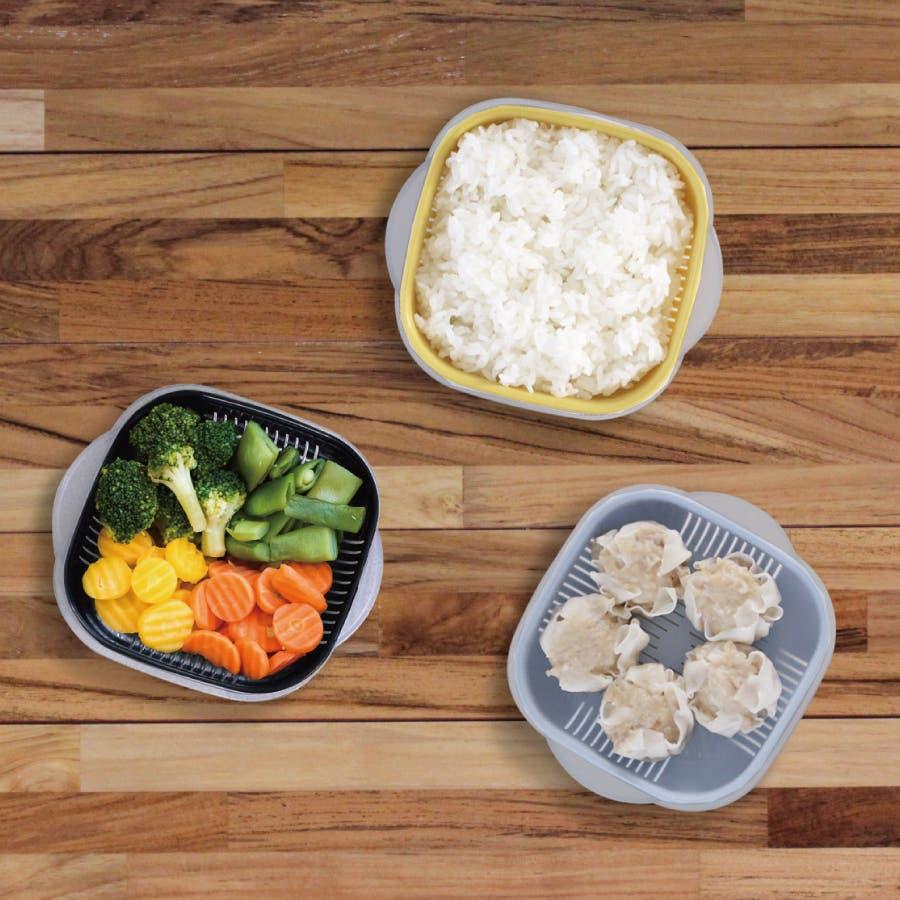 冷凍ご飯もふっくら解凍 Refura(レフラ) 3色セット 1