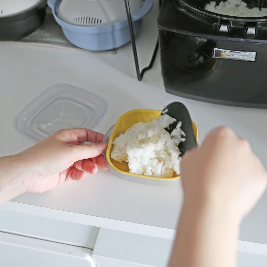 冷凍ご飯もふっくら解凍 Refura(レフラ) 3色セット 3
