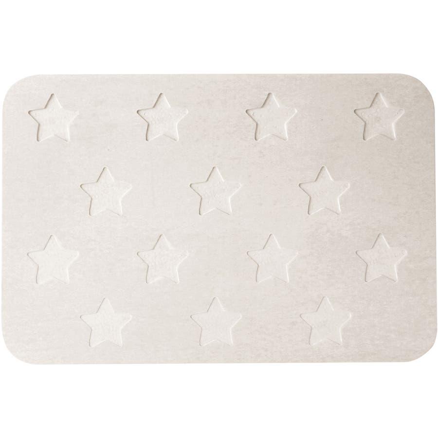 &NE(アンドエヌイー) 珪藻土バスマット Star 16