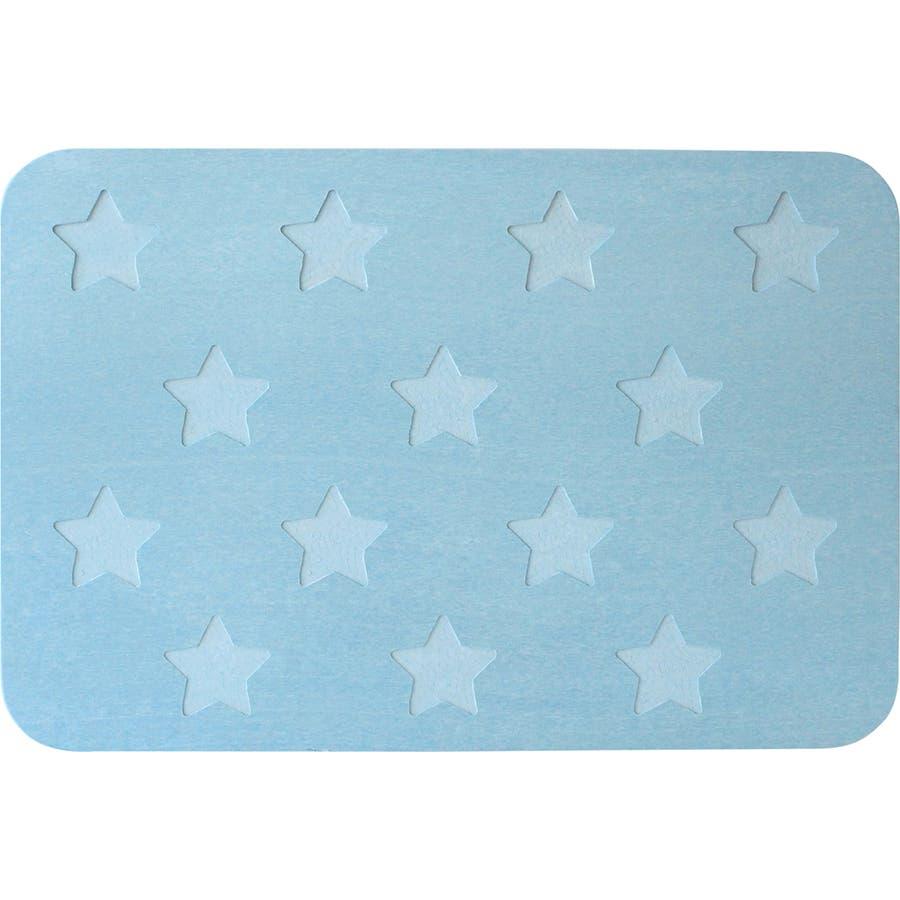 &NE(アンドエヌイー) 珪藻土バスマット Star 76