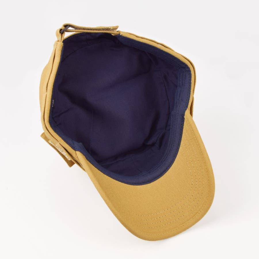 4682-436L ワークキャップ 帽子 Military メンズ レディース ワーカー ワッペン キャンバス ユニセックス 5